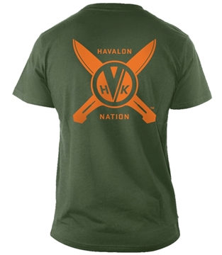 Picture of Men's Medium Green Havalon T-Shirt