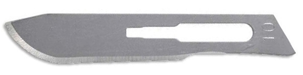 Picture of #10 Non-Sterile Carbon Steel Scalpel Blades - Box of 100